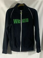 Wicked Green For Good Women's Size Medium Black Jacket Oz Broadway Musical