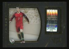2016-17 Panini Black Gold Soccer Man Of The Match Cristiano Ronaldo Portugal