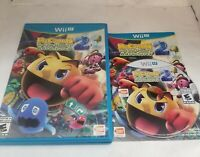PAC-MAN AND THE GHOSTLY ADVENTURES 2 - NINTENDO WII U Free Shipping