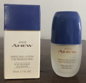 Avon Anew Perfecting Lotion Problem Skin 1.7 oz. Acne Treatment Age Defense 1994