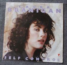 Laura Branigan, self control / silent partners, SP - 45 tours