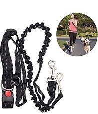 ADOGO® Hands Free Running Dog Lead, Multifunctional Adjustable Dog Leash, Dog Wa