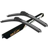 ABLEWIPE Fit For Volkswagen Touareg 2017-2012 Beam Front Windshield Wiper Blades