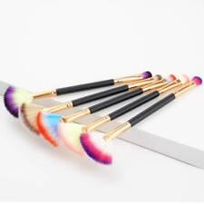 Pro Fan Shape Highlighter Lidschatten Puderpinsel Tragbare Make-up Pinsel