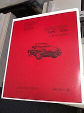 Alfa Romeo 2000  Series 4 Spider Workshop Manual Service Repair Instruction