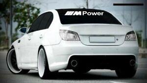 bmw mpower windscreen windows Sticker decal 90CM X 12CM