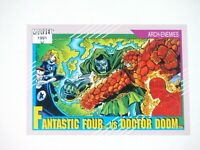1991 Marvel Universe SERIES 2 DIAMOND EXCLUSIVE FANTASTIC FOUR #121 PROMO Card!