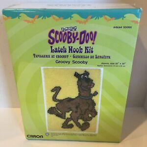 Scooby-Doo Latch Hook Kit -Open Box- Caron SD0100 20x30