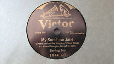ELIZABETH SPENCER VICTOR 78 RPM RECORD 18403 WHERE THE MORNING GLORIES GROW