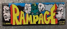 Rampage Arcade Game Marquee Fridge Magnet