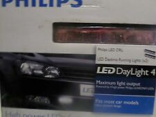 Genuine Philips Led Daylight 4 12V LED DRL Daytime Running Light 12820WLEDX1