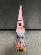 Fairy Castle Pink Ceramic Hand Made Lamp