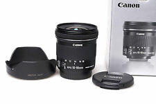 Canon EF-S 10-18 mm F4.5-5.6 EF-S IS STM + Lens Hood