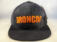 Denver Broncos NFL Vintage Strapback Hat Cap American Needle