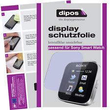 1x Sony SmartWatch Protector de Pantalla protectores transparente