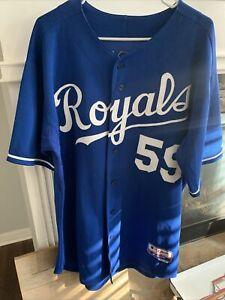 Kansas City Royals Game Worn Jersey