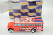 Vintage Hot Wheels Car Graphic Bus In Gift Box