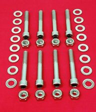 HONDA TRX450R, 400EX, 300EX POLISHED STAINLESS STEEL A-ARM BOLT KIT