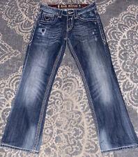 Las Mejores Ofertas En Tamano Regular 30 Rock Revival Jeans Para Hombres En 32 Desde Entrepierna Ebay