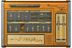 IZOTOPE NECTAR 3 ELEMENTS Vocal Processing Plugin PC & MAC Genuine Licence