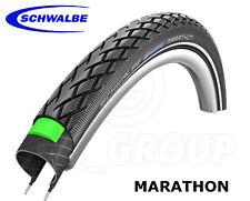 "Schwalbe Marathon TOUR, Black-Reflex, GreenGuard MTB 28"" Tyre - 28x1.40,700x35C"