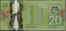 CANADA: $20.00 'RADAR' Banknote -- 4-digit polymer