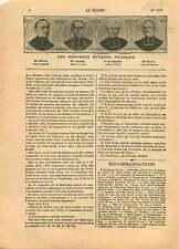 Mgr Ollivier d'Ajaccio /Mgr Grellier de Laval Evêque de France 1906 ILLUSTRATION