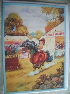 Thelwell Horse Riding HIGHLY COMMENDED Gentle Humour Blank Card