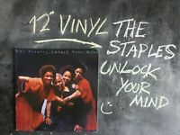 THE STAPLE SINGERS UNLOCK YOUR MIND VINYL ALBUM WARNER RECORDS 1978 BSK 3192