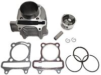 SCOOTER 150CC GY6 ENGINE REBUILD KIT CYLINDER KIT CYLINDER HEAD CHINESE SCOOTER