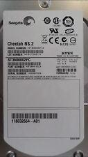 "Seagate Cheetah ST3600002FC 600GB 10K FC HDD Cache Fibre Channel 3.5"" Hard Disk"