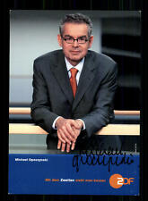 Michael Opoczynski ZDF Autogrammkarte Original Signiert # BC 84225