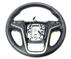 23492195 Steering Wheel Jet Black Leather Collision 2015-2016 Buick LaCrosse