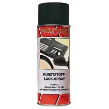 Kim-Tec 400ml Kunststoff Lack (14,88€/L) Kfz Spray Plastik Auto schwarz Farbe