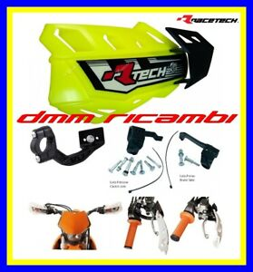 Paramani RACETECH FLX universali Moto Cross Enduro Motard Pit-Bike (Giallo Fluo)
