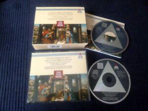 2xCD Christmas Oratorio Weihnachten Complete Harnoncourt Teldec Alte Werk WIEN