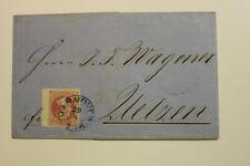 Brief,gel.1862 aus Hannover nach Uelzen