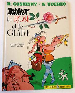 """Bande Dessinée : """"Astérix la rose et le glaive"""" édition de 1991"""