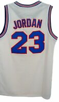 Michael Jordan Tune Squad Youth Basketball Jersey White Space Jam 23 Child Kids