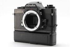 ✈️FEDEX 🔴NEAR MINT🔴MINOLTA XD-S 35MM SLR FILM CAMERA W/ AUTO WINDER D SET