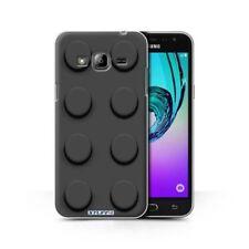 Housses et coques anti-chocs noir Samsung Galaxy J pour téléphone mobile et assistant personnel (PDA)
