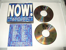 NOW THATS WHAT I CALL MUSIC 18 -2 CD FATBOX SET-1990-32 TRACKS-Ex Condi