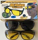 2 FOR 1 - HD Night  Day Vision Wraparound Sunglasses, As Seen on TV