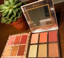 Authentic BH Cosmetics BLUSHING IN BALI 6 Color Blush & Highlighter Palette