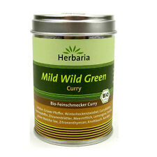 (14,27/100g) Herbaria Mild Wild Green Curry bio Feinschmecker 70 g