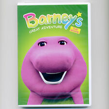 Barney's Great Adventure 1998 G family movie, new DVD magic egg musical children