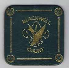 Traded At World Jamboree Blackwell Court Coaster Leather DBL 600924
