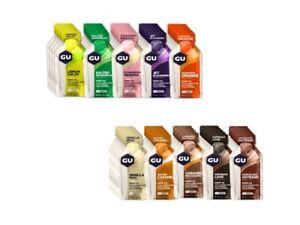 GU Energy Original Sports Nutrition Energy Gel - Assorted Flavors (24-Count)