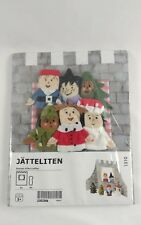Ikea Finger Puppets Castle Jatteliten New in Package 6 Puppets with Background