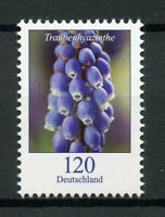 Germany 2019 MNH Grape Hyacinth Flowers Definitives 1v Set Nature Stamps